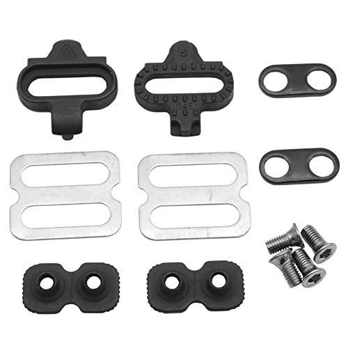 JooFn Bike Cleats for Shimano SPD - Spinning, Indoor Cycling & Mountain Bike Bicycle Cleat Set (Pedals Spd M540)