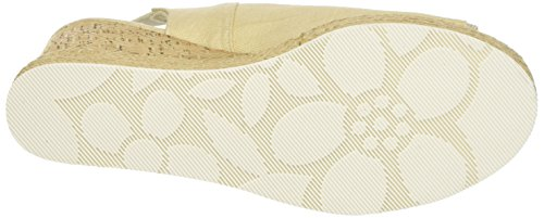 Toe Topazia Nat s U Off Assn polo natural Open Sandals Linen Women's white wBAqIxA0