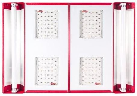 41X7k6LN35L - California Light Works 880 LED Grow Light 880w UVB with Free Method Seven LED Glasses and Hangers
