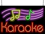 Karaoke Neon Sign w/Notes
