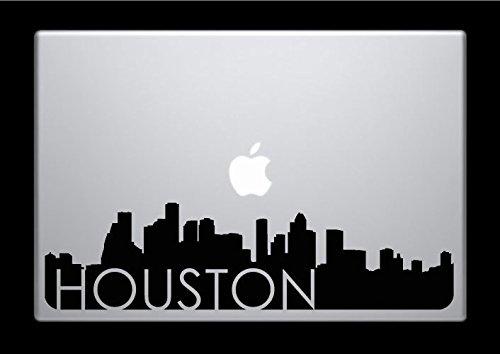 DecalGalleria - Houston Skyline Decal Sticker for MacBook, MacBook Pro and MacBook Air 11, 12, 13, 15, 17 - Galleria Houston