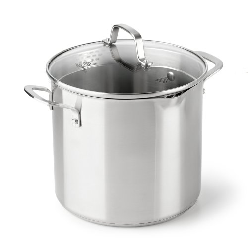 Calphalon Classic Stainless Steel Cookware, Stock Pot, 8-...