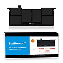 BatPower 5000mAh Replacement A1406 A1495 Laptop Battery for 2011 2012 2013 2014 2015 Apple A1465 A1370 Macboook Air 11 battery A1406 A1495 MC968 MD223 MD711 -Li-Polymer 7.3V or 7.6V/39Wh