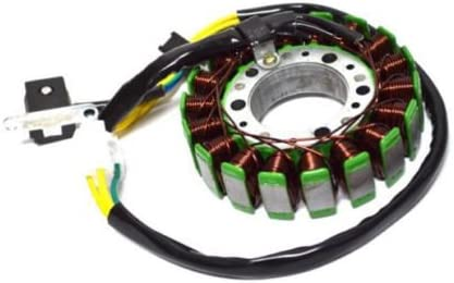 GOOFIT 18 polos bobinas del estator Magneto bobina para GY6 250cc refrigerado por agua del motor