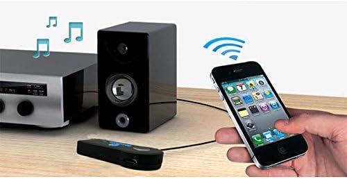 P57 3.5mm Bluetooth Adapter mit Akku BT Musik Audio Empf/änger PC Lautsprecher Mit vollem Akku kann es bis 8 Stunden Spielen