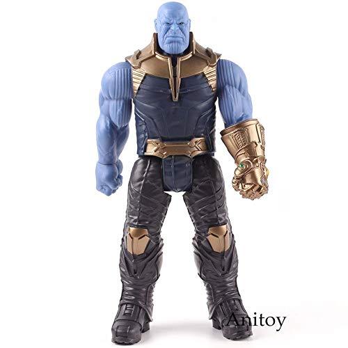 Thanos in bag -Type1638 Titan Hero Series Avengers Infinity War Thanos Iron Spider Captain America Black Panther Iron Man Hulk Hulkbuster Figure Toys - Super Hero Figures for Boys