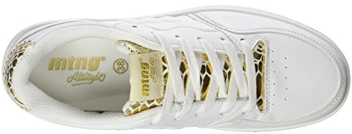 36 Baskets Femme Blanc Oro EU Blanco Basses 69022 Snake MTNG Action Blanc Attitude Pu wxFnfqYq