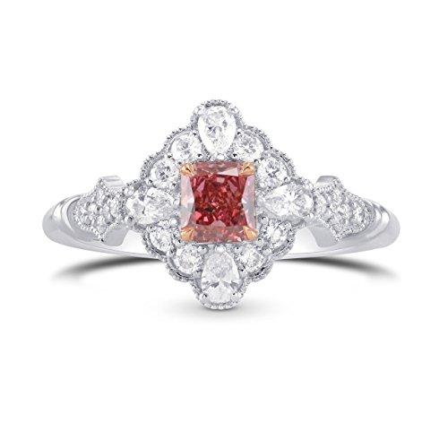0.84Cts Pink Diamond Extraordi