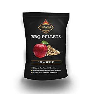 Lumber Jack 100% Pure Apple Wood Grilling Pellets from famous Lumber Jack