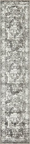 Unique Loom Sofia Collection Traditional Vintage Gray Runner Rug (2' x - Thin Runner Rug