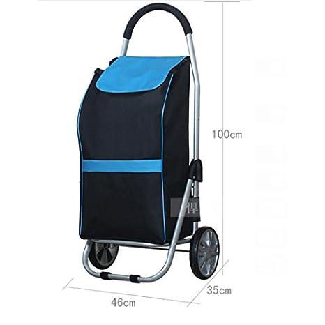 J&M Shopping Trolley, Hard Wearing & Foldaway Lightweight ...