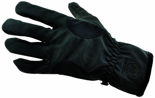 Womans Windstopper (Manzella Women's Windstopper-10 Glove, Black, Medium)