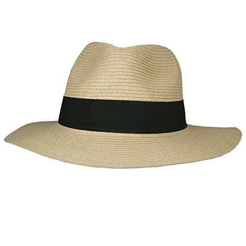 Hey Hey Twenty - Mens / Ladies - Packable Fedora Sun Hat with Travel Tube -...