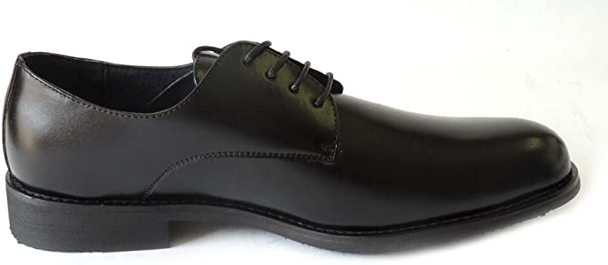 NEWDELLI ALDO Mens LACE UP Round Toe Oxfords LEATHERLINED Dress Shoes//Black