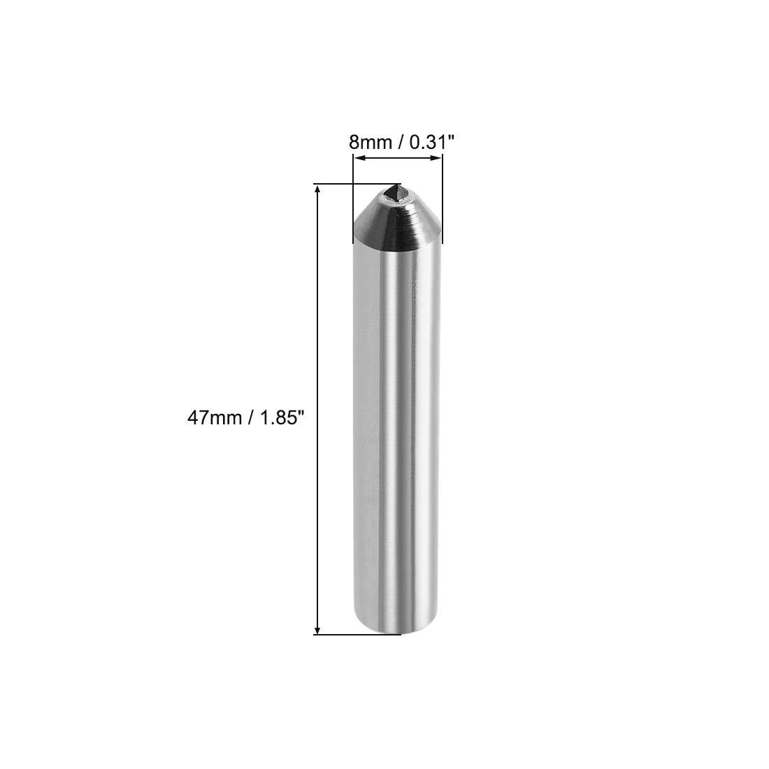 uxcell Diamond Grinding Wheel Dresser 8mm X 47mm Single Point Dressing Tool for Truing