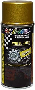 Dupli Color 134098 Tuning Lackspray Wheel Paint 150 Ml Gold Auto