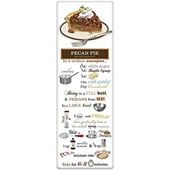 Mary Lake Thompson Flour Sack Recipe Towel - Pecan Pie