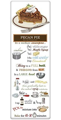 Mary Lake Thompson Flour Sack Recipe Towel - Pecan Pie -