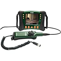Extech HDV640 High Definition Articulating VideoScope with 6mm Camera and 1m Semi-Rigid Cable