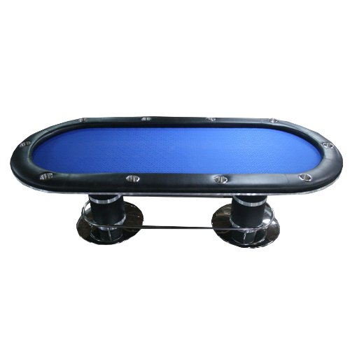 96-10-Players-Texas-Holdem-Poker-Table-With-Stainless-Steel-Cup-Holders-Blue