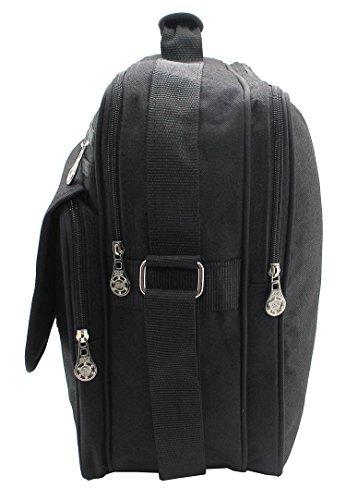 * Kim Kranholdt Sonderposten * XXL Bag–Bolsa compañero de vuelo Messenger Bolso Business trabajo–Bolso para hombre bolso Mujer
