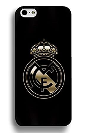 Vintage Funda iphone 7 Plus 5.5 Inch Case, Real Madrid Football Logo Designed Scratch-
