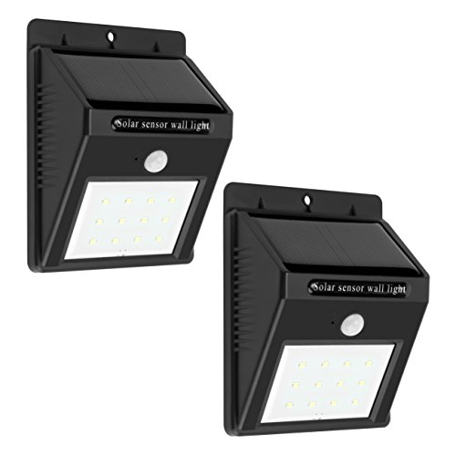 Waterproof 6 Solar Power Light Sensor Wall Light - 4