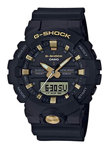 Casio G-Shock Men's GA-810B-1A9 Black/Gold