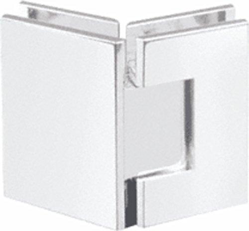 CRL Geneva 045 Series Polished Nickel 135° Glass-to-Glass ()