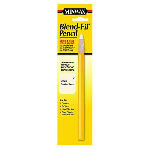 Minwax 11002 Number-2 Blend-Fil Wood Repair Stain Pencil, Natural Bleached Wood ()