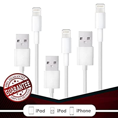 iPhone Charger Cable Cord Wire - 3 Ft from Fierce Cables