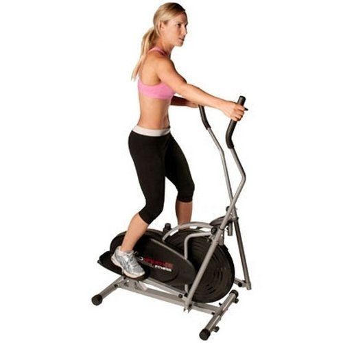 Confidence Elliptical Cross Trainer with Computer - Black/Silver - Cadio...