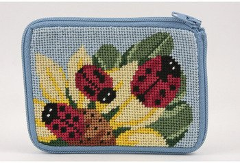 - Coin Purse - Ladybug - Needlepoint Kit