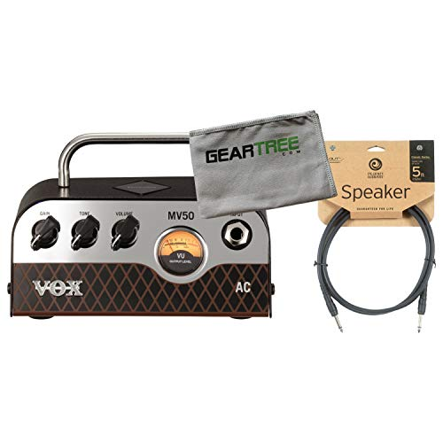 Vox MV50 50w AC Head w/Cleaning Cloth and Speaker Cable