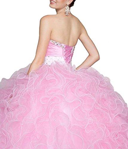 Fanciest Kleid Linie A Damen Rose BwPrqfBx1n