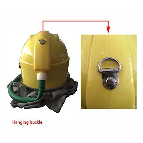 AIR FED Safety Sandblast Helmet Sand Blast Hood Protector for Sandblasting by BIC (Image #2)