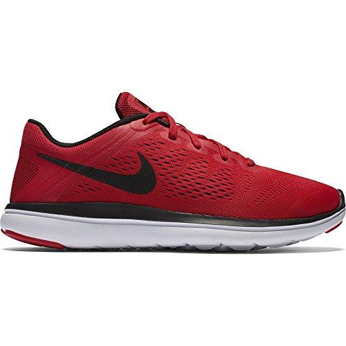 Galleon - NIKE Boy s Flex 2016 RN (GS) Running Shoe University  Red White Black Size 3.5 M US ec93b6769