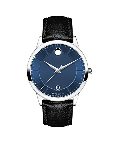 Movado 1881 Automatic Blue Dial Men's Watch 0607020