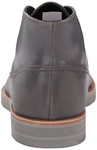 Calvin Klein Mens Walter Leather Boot Steel iROiyk