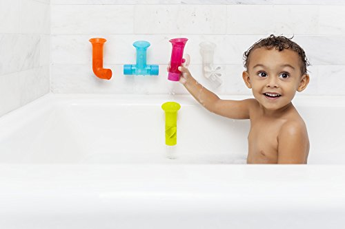 41X7tUdmkML - Boon Building Bath Pipes Toy Set, Set of 5