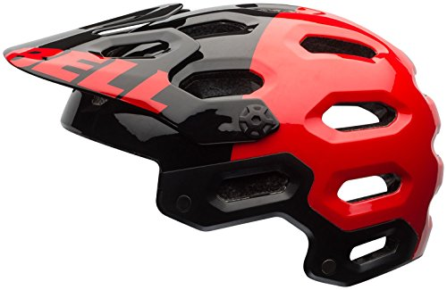 Bell Super 2 Helmet - Black/Red Aggression Small