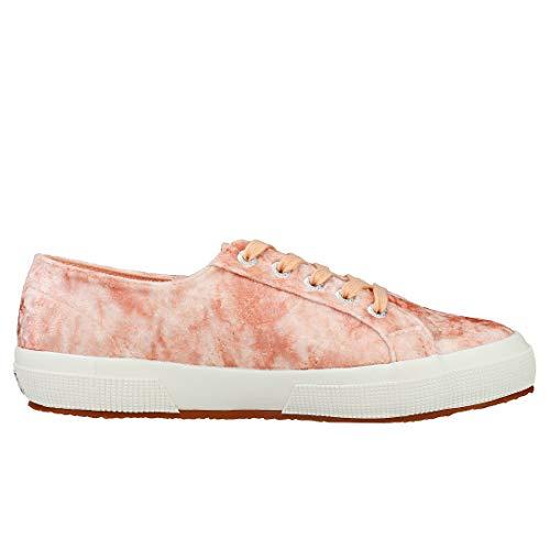 Superga Velvet 2750 Crinkle Shiny Pink Peach Y1Yrqw