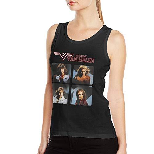 Women's Van Halen Group Tank Top. S to 2XL