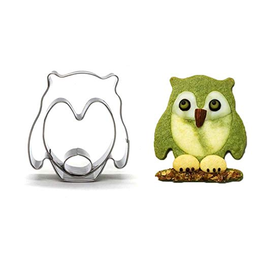 iZasky Cookie Cutter Mold Stainless Steel Bird Shape Animal Biscuit Baking Tool Fondant Pastry Decorating Tools]()