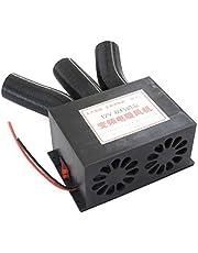 12V 24V 3 Port Car Heater,Car Defogger,Windshield Defroster 800W Universal DC Car Truck Heater Automotive Air Heater