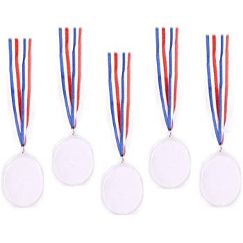 amazon com play kreative design your own award medals pack of 24