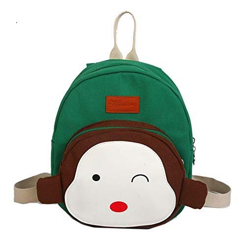 3fbf82dfe705 TeMan Kids Backpack Kindergarten Cartoon Schoolbag (Blue Robot Large)
