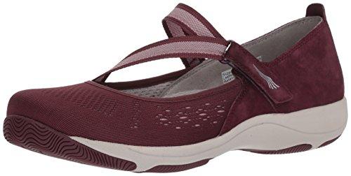 Dansko Women's Haven Sneaker, Wine Suede, 39 M EU (8.5-9 US)