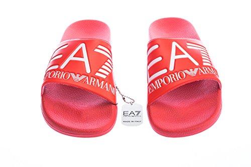 Uomo Rosso Sea Sandalo World Visibility Ea7 wTqtFF