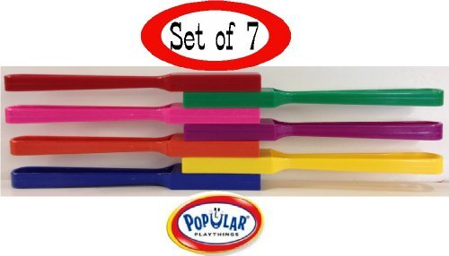 Learning Mates 8 Magnetic Wands Set of 7